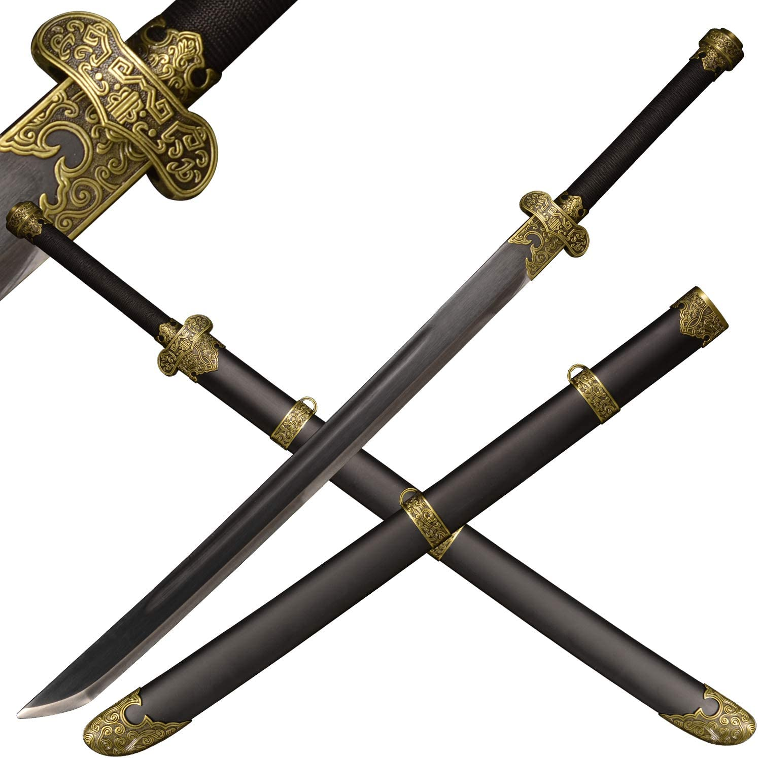 SV Tomb Raiders Notes-Zhang Popularity Qiling's Al sold out. Gold Black M Ancient Knife