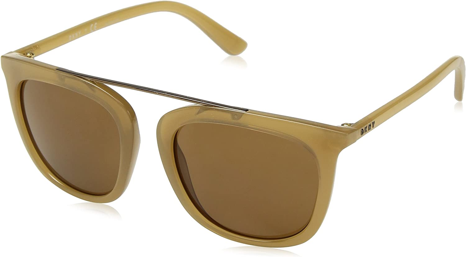 DKNY Women's Injected Woman Sunglass Square