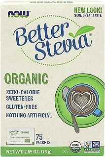 [海外直送品] ナウフーズ  Organic Stevia Packets 75 Packets