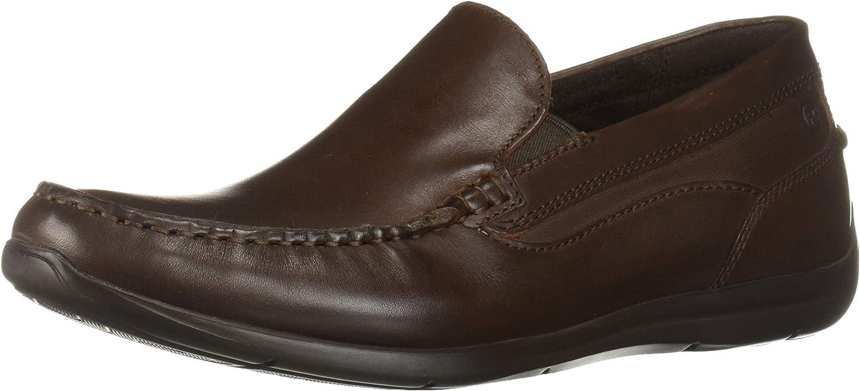 Rockport Men's Cullen Venetian Loafer, Brown/Brown, 8 M US