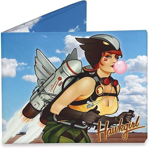 marca Dynomighty Design Design Design DC Bombshells Hawkgirl Mighty Wallet  venta caliente