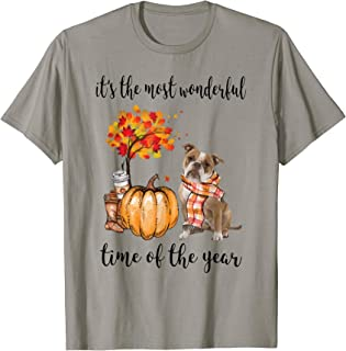 It's The Most Wonderful Time Of The Year Old English Bulldog T-Shirt