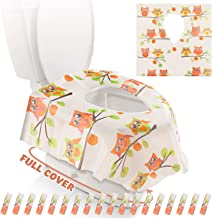 Gimars XL Large Full Cover Disposable Travel Toilet Potty Seat Covers –..