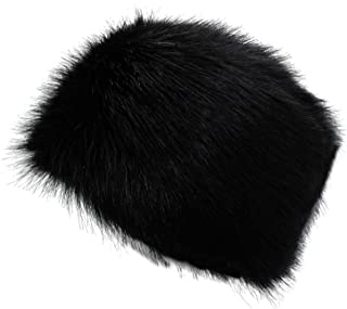 Winter Women Faux Fur Russian Cossack Style Hat Winter Wrap Hat