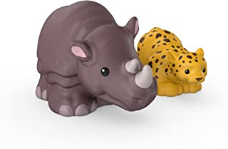 Fisher-Price Little People Leopard and Rhino