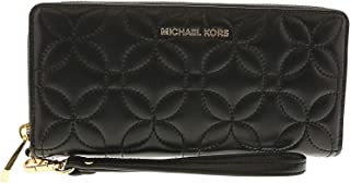 5b875cc456af Michael Kors Quilted Floral Travel Continental Wallet