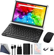 ZONKO Tablet 10 inch 4G Phone Tablet with Dual Sim Card Slot Android 10 Tablet PC, 4GB+64GB Storage Octa-Core Processor,13...