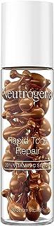 Best Neutrogena Rapid Tone Repair Brightening 20% Vitamin C Serum Capsules, Antioxidant Serum To Brighten Look of Dark Spots & Even Skin Tone, Oil-Free, 30 Serum Capsules Review