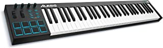 Alesis V61 | 61 Key USB MIDI Keyboard Controller with 8 Back