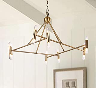 Safavieh CHA4006A Lighting Collection Hegarty Gold Chandelier,