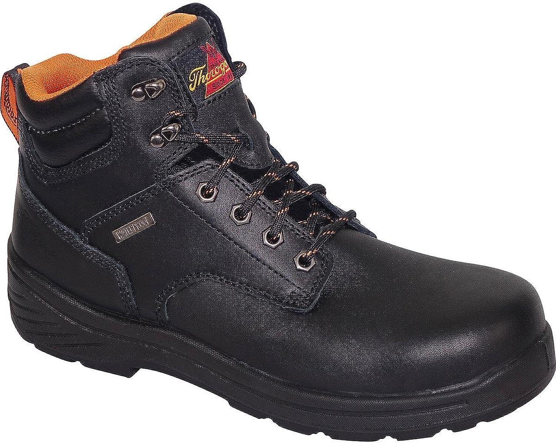 Thgoldgood Men's 6  Waterproof Plain Toe Sport Leather Boots