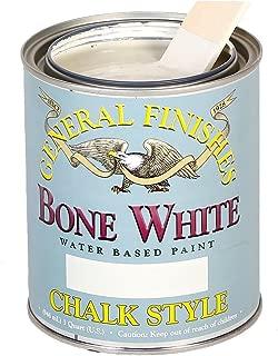 General Finishes MBWP Chalk Style Paint, 1 pint, Bone White