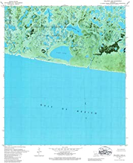 Rollover Lake LA topo map, 1:24000 Scale, 7.5 X 7.5 Minute, Historical, 1979, Updated 1984, 26.8 x 22 in