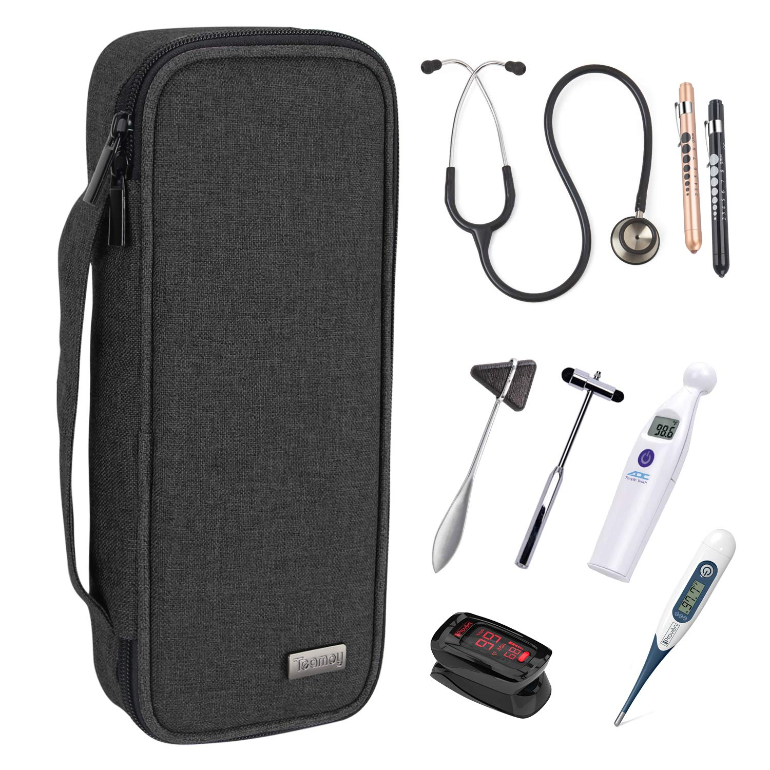 Teamoy Stethoscope Case Regular dealer Compatible with Sales for sale 3M St Omron Littmann ADC