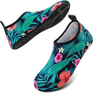 أحذية مائية DigiHero للنساء والرجال، جوارب مائية سريعة الجفاف مناسبة للسباحة والشاطئ للنساء والرجال لممارسة اليوغا في الهو...