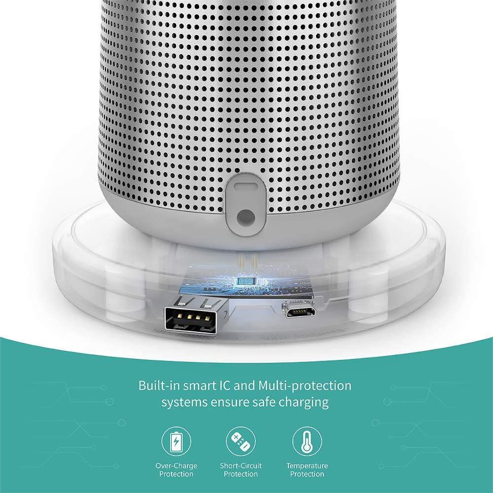SoundLink Revolve Plus Accessori per Altoparlanti Bluetooth TUSITA Base de Carga Compatibile con Bose SoundLink Revolve Cargador Cable USB