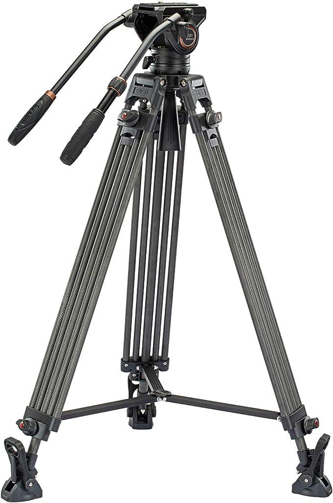 156 opinioni per Système de trépied vidéo Cayer BV25LH, trépied de caméra haute performance