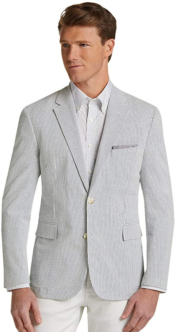 Jos. A. Bank Max 74% OFF 1905 Collection Seersucker Fit Stripe Los Angeles Mall Soft Tailored