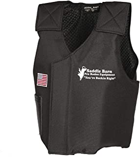 Saddle Barn Tack Mutton Bustin Vest