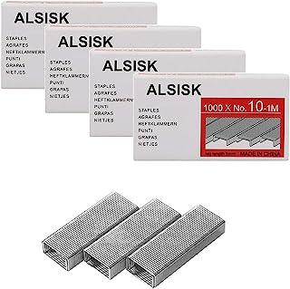 Alsisk 4000PCS No.10 Mini Staples(Smaller Than Standard Staples)