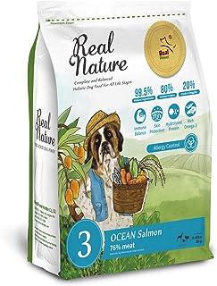 Real Nature Holistic Dog Food リアルネイチャー NO.3 オーシャンサーモン (機能性フード・アレルギーに配慮) (2kg)