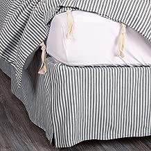 Best ticking stripe bed skirt Reviews