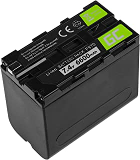 Green Cell® Batería para Cámara Sony HVR-M10N Full Decoded (Li-Ion Celdas 6600mAh 7.4V)