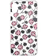 Kate Spade New York - Jeweled Floradoodle Phone Case For iPhone XS