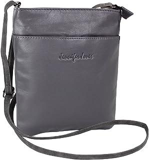 J JONES JENNIFER JONES Kleine Jennifer Jones Taschen Damen 100% Leder Damentasche Handtasche Schultertasche Umhängetasche Tasche klein Crossbody Bag 6124
