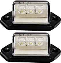 FXC 2x Car LED License Plate Tag Light 12V or Convenience Courtesy Door Step Lamp