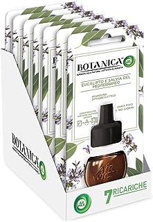 Airwick Botanica navulverpakking voor diffuser van etherische oliën, geur eucalyptus & mediterrane salie, natuurlijke geu...