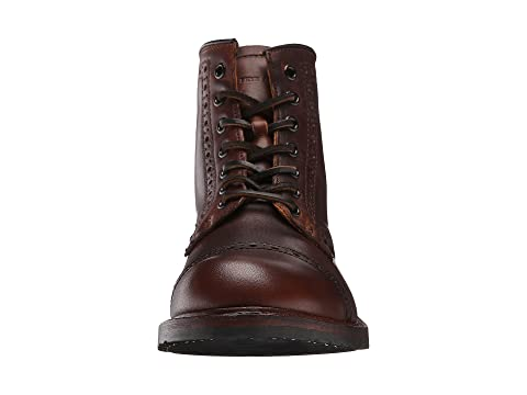 Brogue Logan Cap Up Toe Cognac Frye Vintage Pull 7gwATqT54