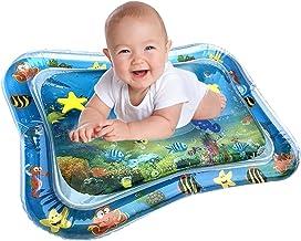 JKKJ Kids Opblaasbare Water Mat, Baby Water Mat Leuke Activiteit Play Center Uw Baby's Stimulatie Groei Water Gevulde Spee...