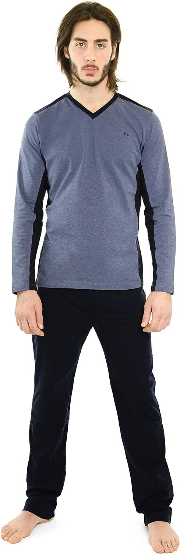 Yugo Sport Pajamas Max 55% 100% quality warranty! OFF for Men - Sleepwea Pajama Mens Men's Cotton