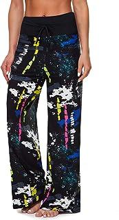 Sponsored Ad - TNNZEET Women's Comfy Pajama Pants - Drawstring Casual Lounge Pants Wide Leg