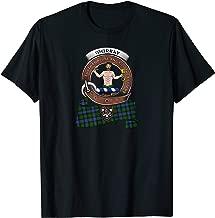 Murray (Atholl) Clan Badge & Tartan T-Shirt
