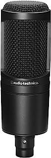 Audio-Technica AT2020 Cardioid Condenser Microphone...