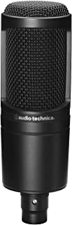 Audio-Technica AT2020 Cardioid Condenser Microphone (Renewed)