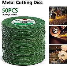 Nifera 25PCS Cutting Discs 100 Angle Grinder Ultra Thin Cuttings Dics Resin Double Mesh Ultra-Thin Polishing Piece Metal Cutting Slitting Discs