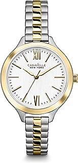Caravelle New York Women's 45L139 Analog Display Japanese Quartz Two Tone Watch