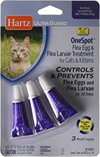 Hartz Ultra Guard One Spot Flea Egg Treatment for Cats and Kittens