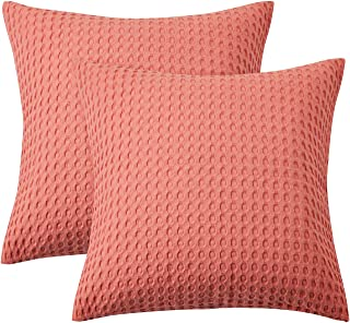 PHF Cotton Euro Sham Cover Waffle Weave 26