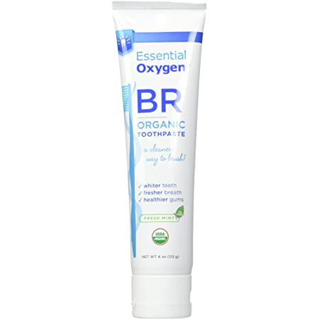 Essential Oxygen BR Organic Toothpaste Peppermint 4 oz
