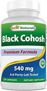 Best Naturals Black Cohosh 540 mg 120 Capsules