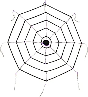spider web black light