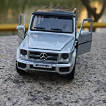 modelcars 1:35 Scale Alloy Diecast Toys Car Model Mercedes-Benz G63 AMG Pull Back Function Silve