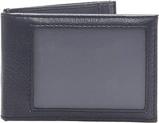 Men's RFID Security Blocking Slim Front Pocket Wallet, navy, One Size