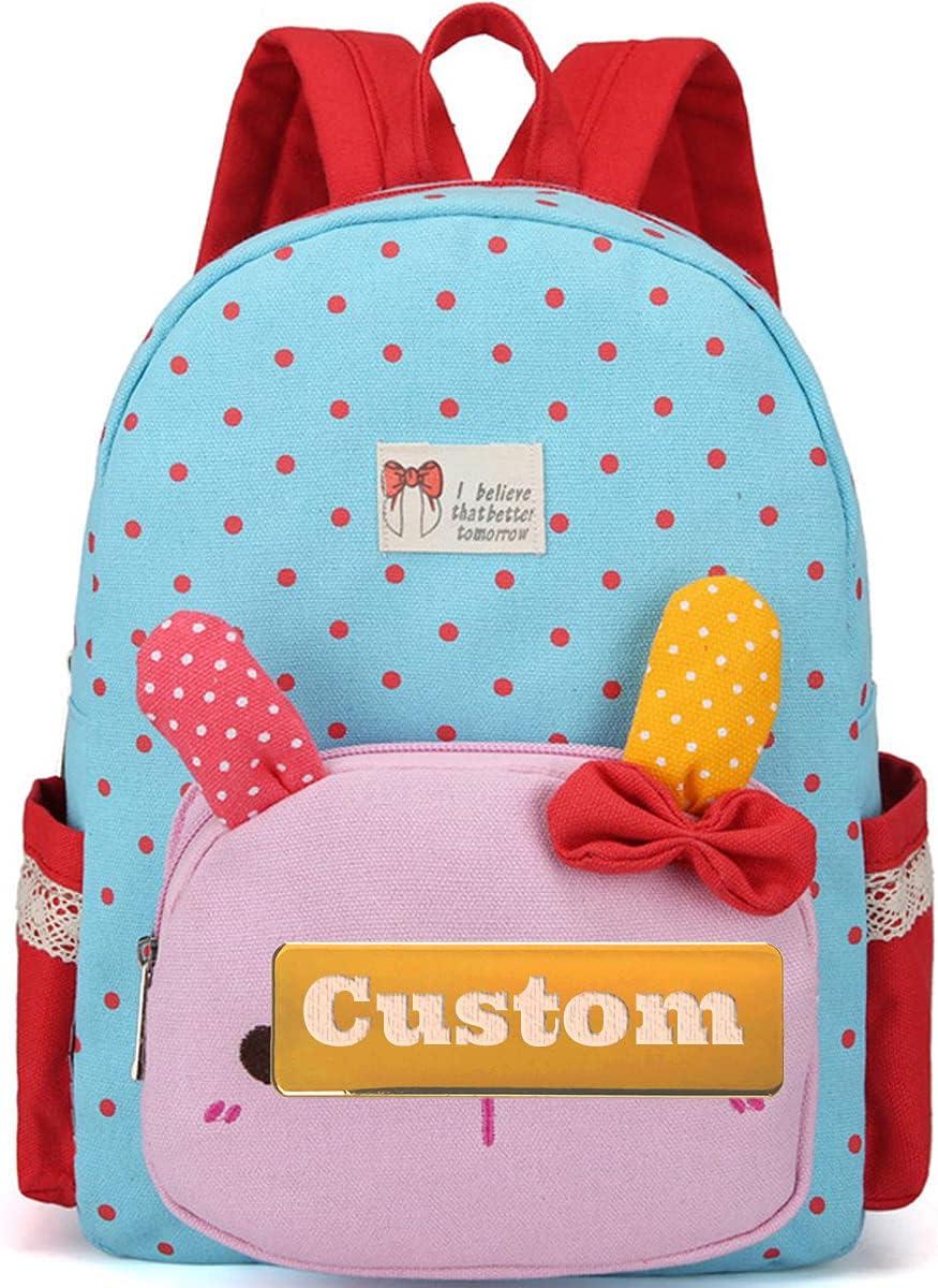 Custom Name Teen Girl Rucksack Daycare Backpack Max 76% OFF Rare for Mini Prescho