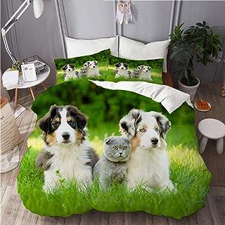 N//A Bergers australiens en tissu cactus pour chien en tissu de cactus en tissu australien bergers et mignons chiens bandeaux bandana bonnet /écharpe masque de cou gu/êter bandeau protection UV solaire