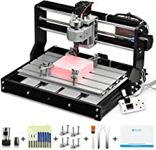 Genmitsu CNC 3018-PRO Router Kit GRBL Control 3 Axis Plastic Acrylic PCB PVC Wood Carving Milling Engraving Machine, XYZ Working Area 300x180x45mm